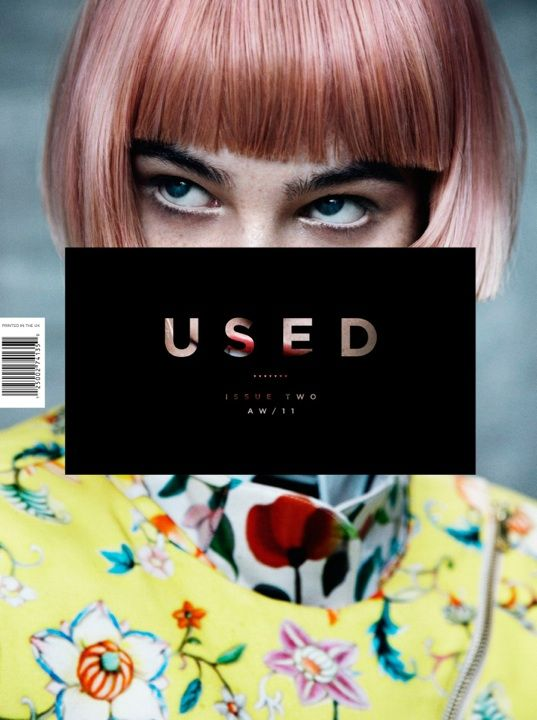 Used - magazine cover