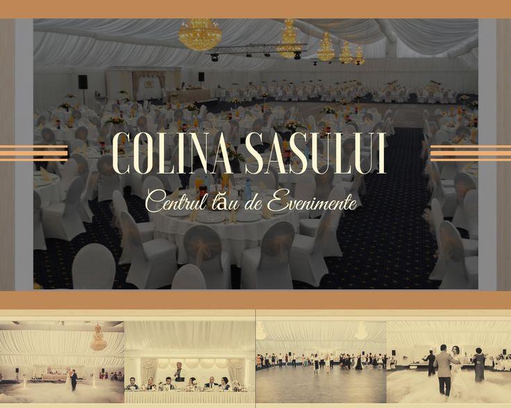 """Centrul de Evenimente """"Colina Sasului"""" va oferă doua locații de nuntă deosebite , unde va puteți bucura altaturi de la 150-900 de invitați.Adresa: Ludus , DN 15 .Telefoane : 0725035155, 0744692894.Descarcati  aplicația """"Colina Sasului"""" din Google Play, App Store"""