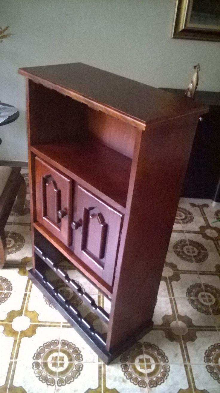Mueble rustico de Magdaleno después de restaurado