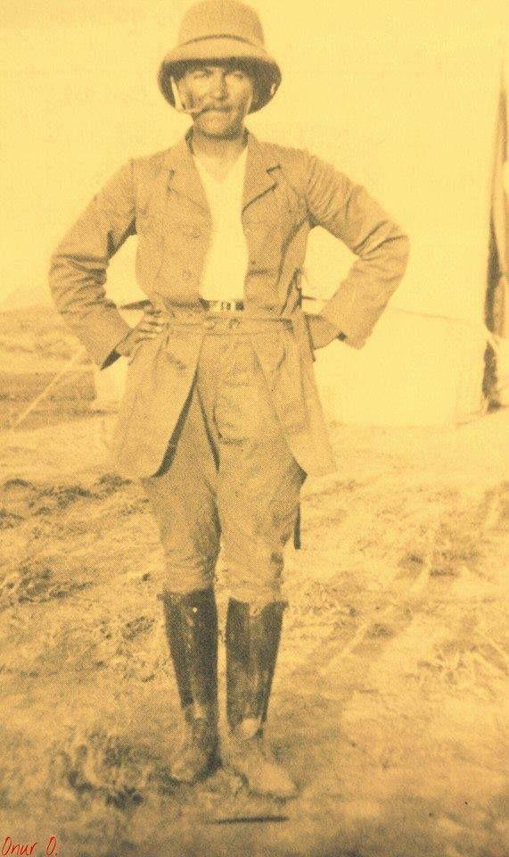 Mustafa Kemal Derne Cephesi'nde...(1911)