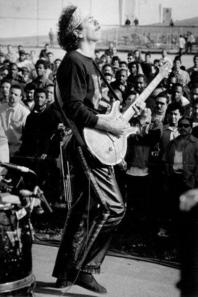 a biography of famous musician santana Unlimited free santana music - click to play smooth, black magic woman and whatever else you want santana is a rock band based around guitarist carlos santana and.