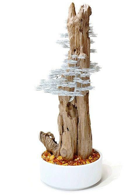 This amazing medium size bonsai wire tree is fantastic housewarming metal art, driftwood sculpture will give your home a strong emotion. I use about 100 meters stainless steel wire to made this driftwood art. Wire tree sculpture perfect as a gift for any occasion for people who