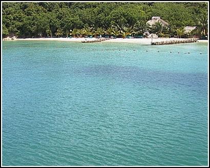 Disfrutar las playas de Cartagena de Indias