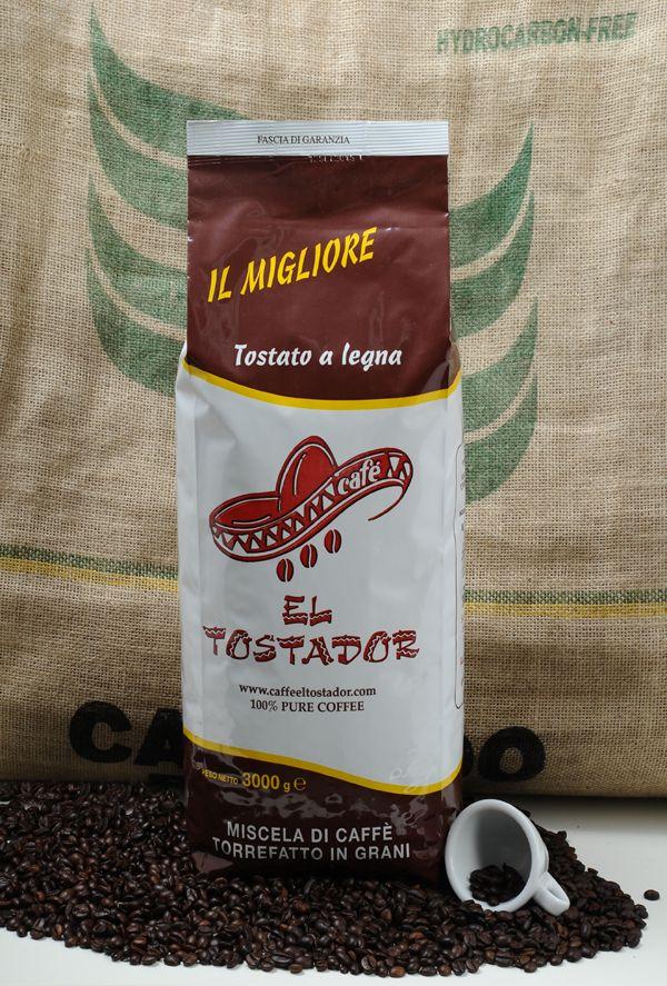 MISCELA BAR Una combinazione dei caffe' arabica,rendono questa miscela particolarmente consignata ai palati piu'raffinati ed esigenti costituita da un 70 % arabica e 30 % robusta. www.caffeeltostador.com