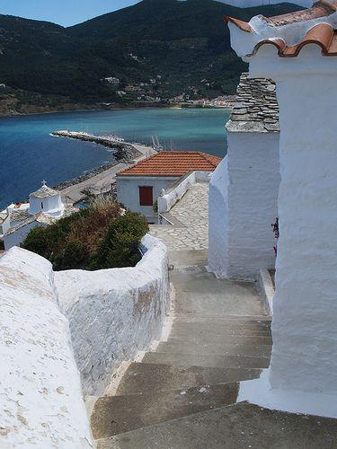 Skopelos, Castle   Flickr - Photo Sharing!