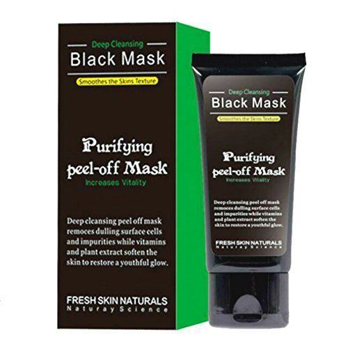 Blackhead Remover Mask ,Blackhead Cleansing Mask Cleaner Face Mask/Deep Clean Blackhead/Farewell Strawberry Nose/Peel Off Black, Acne Treatment Facial Masks Black Men And Women Common Product Description: Black peel off facial mask for the removal of blackheads. Activated Charcoal for outstanding removal of impurities Cleans out of dirt and debris effectively on face. NATURAL Skin Purifying: Containing strong bamboo extracts, This full face Activated Natural Charcoal Mask is