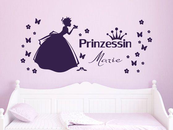 Fresh Wandtattoo f r M dchen ist eine h bsche Idee die Kinderzimmern zu versch nern Gro e Auswahl an Motiven wie Eulen Blumen Prinzessinnen Pferde und T
