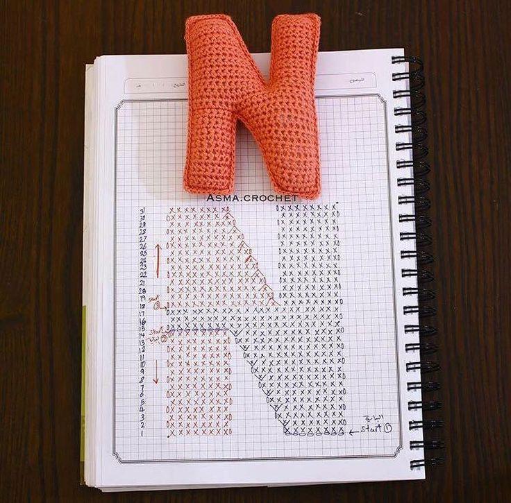 Best 20+ Crochet Alphabet Letters ideas on Pinterest ...