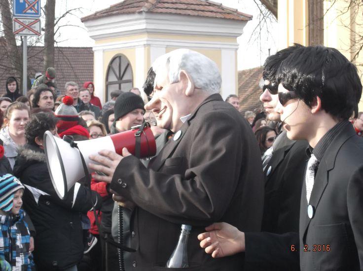 Karneval 2016- Miloš Zeman