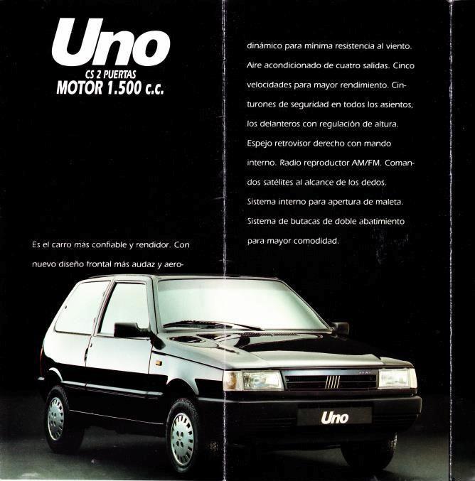 Fiat Uno CS 1991