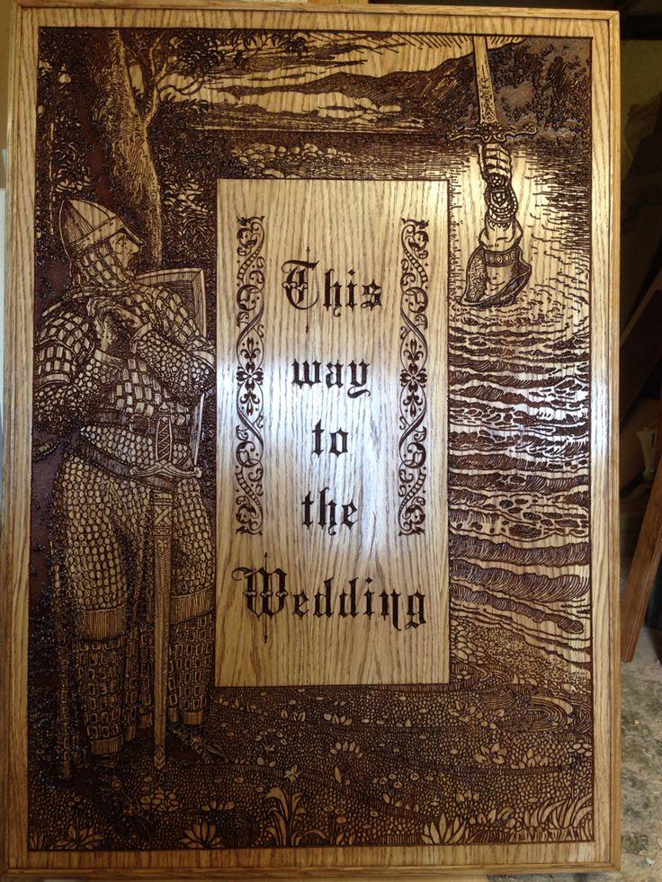 Wedding sign