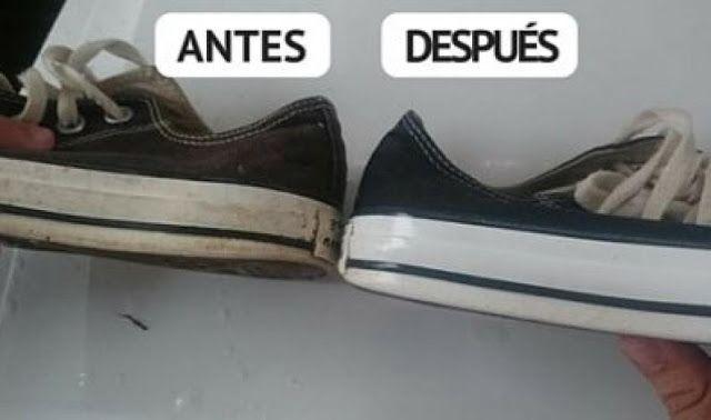 Truco Casero Para Limpiar Tus Zapatos En Sólo Minutos Y Dejarlos Como Nuevos! | Mi Mundo Verde