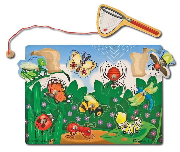 Melissa & Doug Bug Catching Magnetic Puzzle Game: Amazon.co.uk: Toys & Games