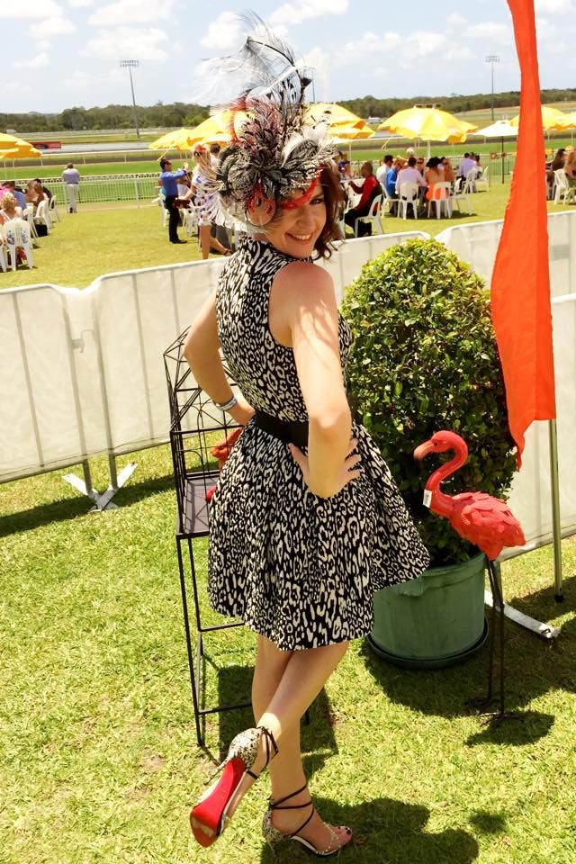 Millinery by Sandy Aslett from Hats by Sandy A