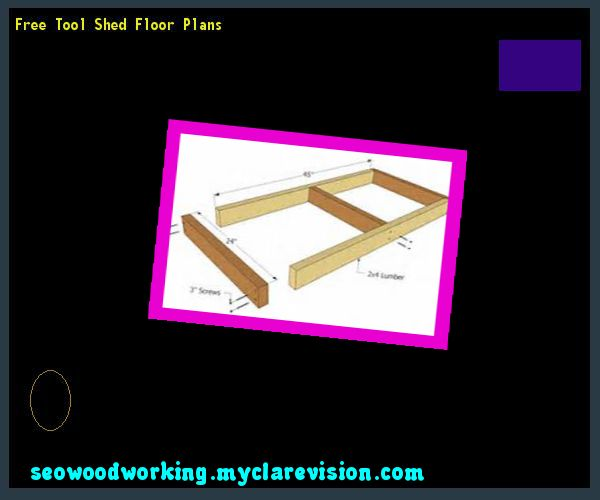 Free Tool Shed Floor Plans 143459 - Woodworking Plans and Projects!