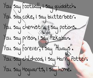 Harry Potter is the best this that's happened to me. It's made me a much happier person.