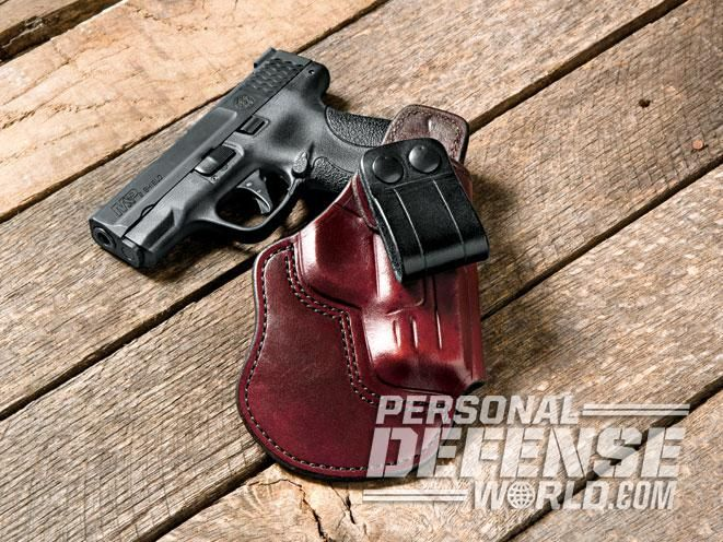 smith & wesson, smith & wesson m&p shield, m&p shield, overland iwb holster