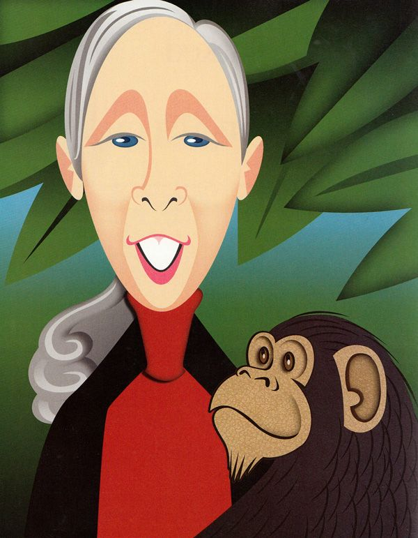 Jane Goodall Answers the Proust Questionnaire   Brain Pickings Religion and science are not mutually exclusive~
