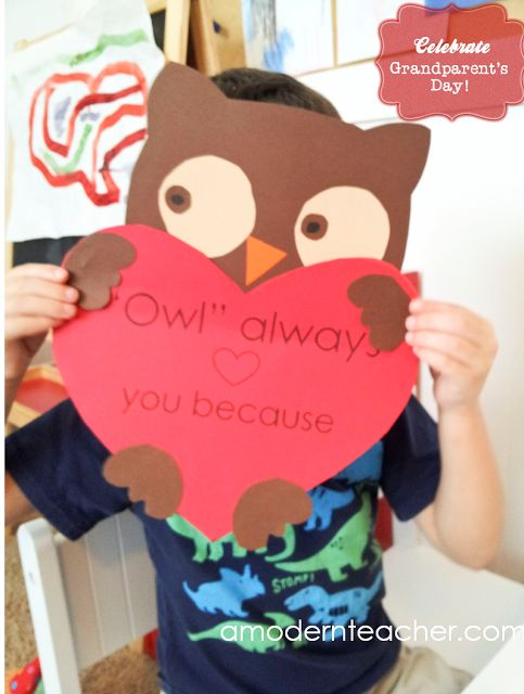 Grandparent's Day is only a week away! {Owl Always Love You!}