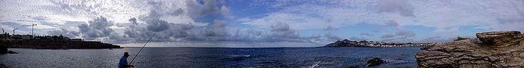 En la inmensidad... se encuentra el buen pensamiento. Pesca con paciencia pescador... y pon el amor de cebo... aunque sea solo un momento.