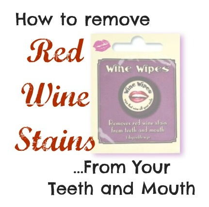 How to Remove Red Wine Stains From Your Teeth and Tongue -Wine Wipes Review