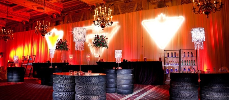 Flowers by Floral Elements - another great event with @EVENTS BY EMMA Canadian Tire Event