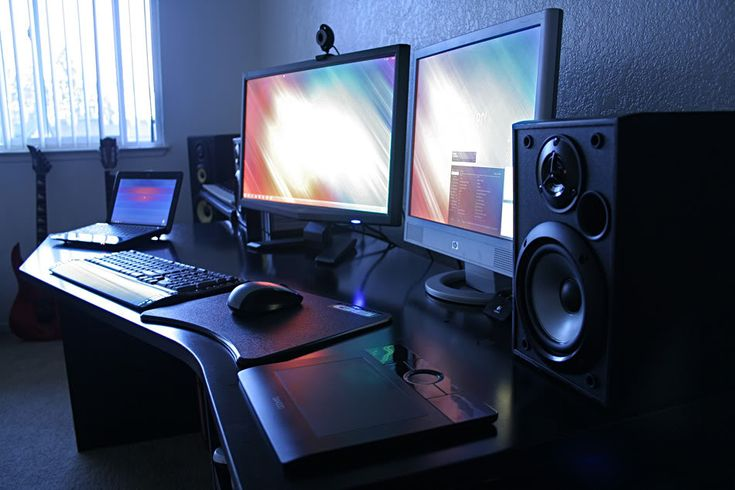 17 Best Images About Future Computer Desk Ideas On