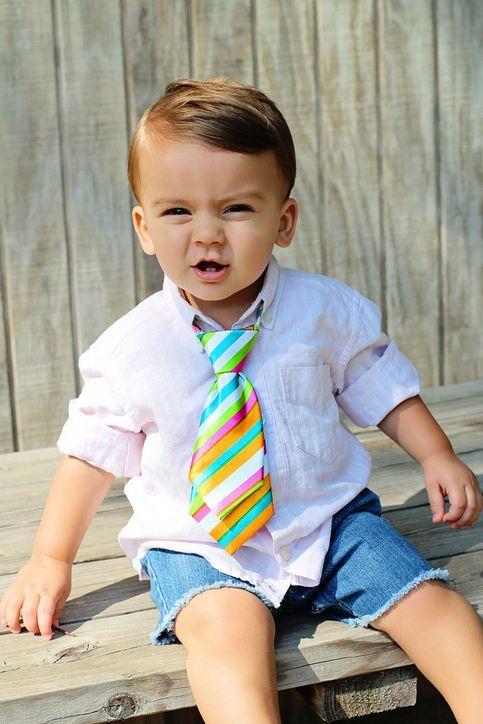 Rainbow Photo Prop Party Tie! Great for Party Favors too! From Handmade & Handpicked Boutique these adjustable baby and toddler ties come in 28 designs. Ideas are endless on dressing up or down.Great grow with them accessories!! Baby Boy Fashion Style Spring Summer Fall Winter All Season.