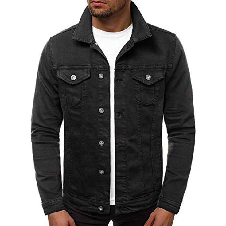 OZONEE Herren Jeansjacke Jacke Jeans Übergangsjacke Herbstjacke Vintage JB/JP11…
