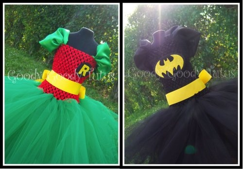 I really hope Molly gets these dresses for her birthday. (See: 25 Signs Your Family's Obsessed--The Very Best Batman Geekery of the Interwebz on Babble!)