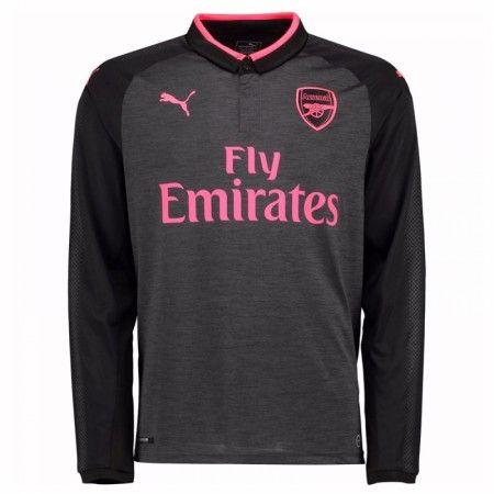 Arsenal 3 trøje 17-18 Lange ærmer
