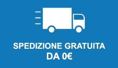 Spedizione gratuita con corriere espresso DHL