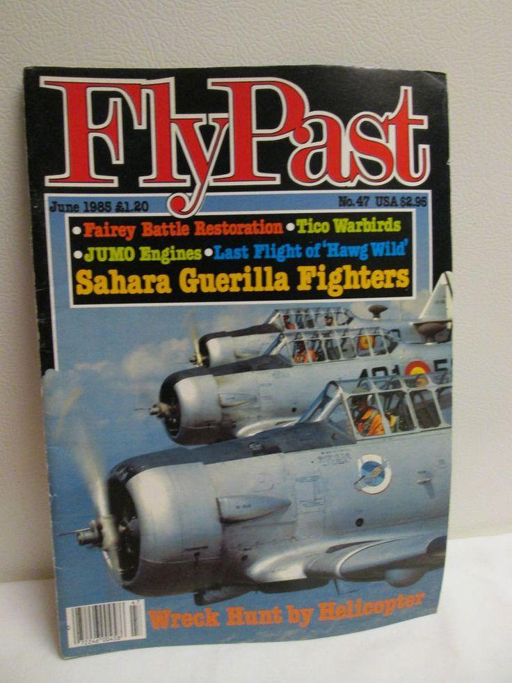 FLYPAST  JUNE 1985 Aviation Airplane Magazine