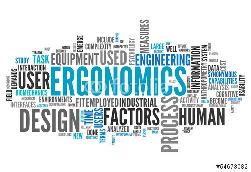 """Definition of Ergonomics: (Digital Citizenship Module Manual, 2016: 141) claim that ergonomics is """"the science of designing environments and products to match the individuals who use them""""."""