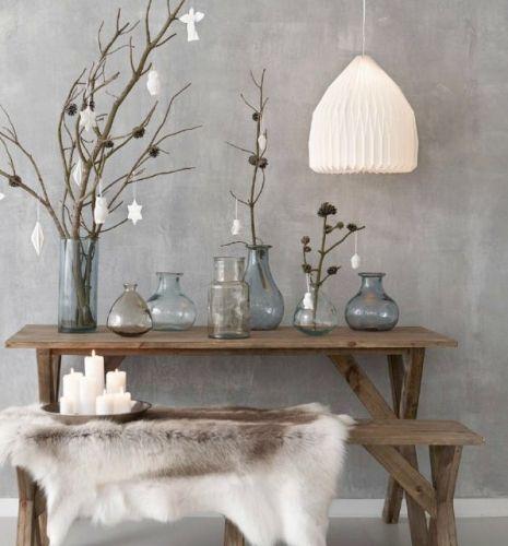 décoration, nature, Noël, nordique, scandinave, simple