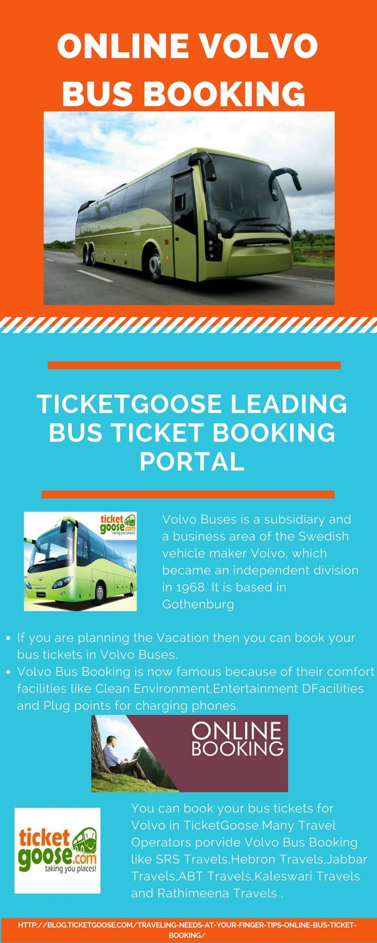 TicketGoose is the perfect place for Volvo bus booking if one is planning to travel in luxury http://blog.ticketgoose.com/traveling-needs-at-your-finger-tips-online-bus-ticket-booking/