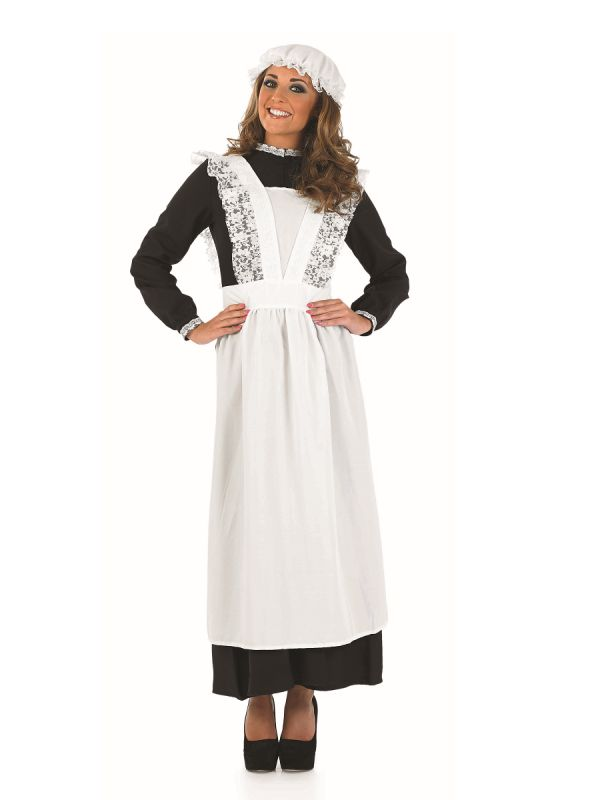 FUN3644 Old Time Maid Costume