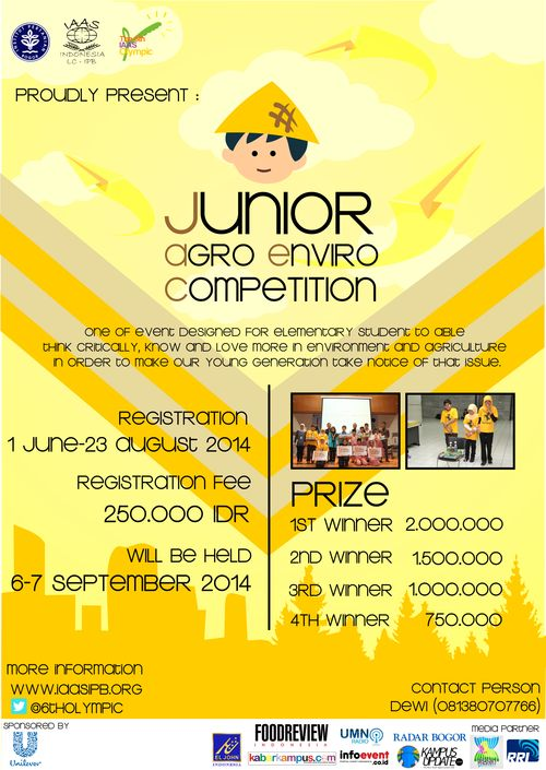 Junior Agro Enviro Competition
