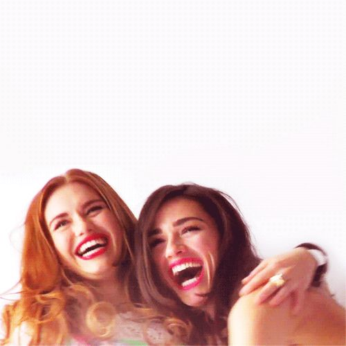 Lydia and Allison