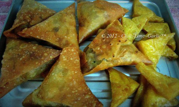 Samosa Salad | Chili~Lime~Garlic™: Chili Lime Garlictm, Savory Eats, Samosas, Samosa Salad
