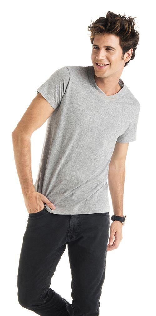 Camiseta Roly Samoyedo color gris vigoré