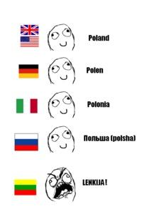 Lithuania! You BORDER Poland!!!