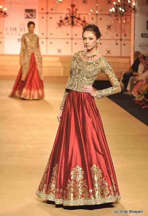 Ashima Leena at Delhi Couture Week 2012