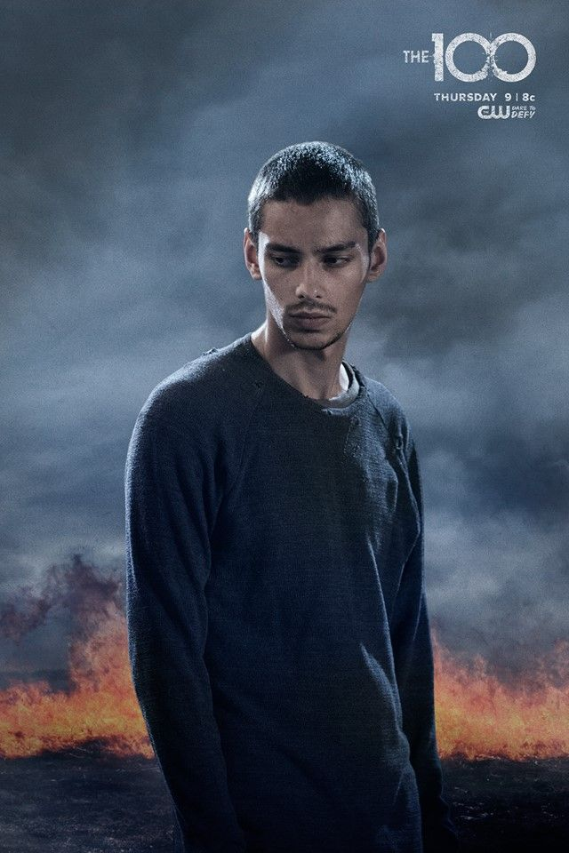 Devon Bostick as (Jasper) #The100