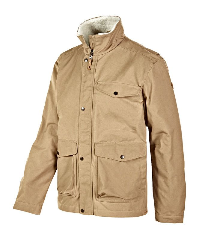 Warme winterjacke welches material