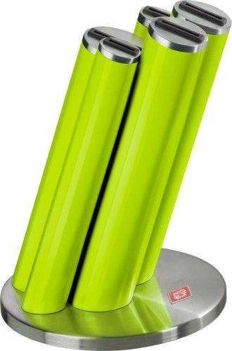 Wesco Knife Pipe Messenblok excl. messen Lime Groen  Wesco Knife Pipe messenblok met plaats voor 5 messen gemaakt van stevig Wesco design. De combinatie van roestvrij staal met een gekleurde lak maakt het messenblok een echte eye-catcher.  EUR 67.95  Meer informatie
