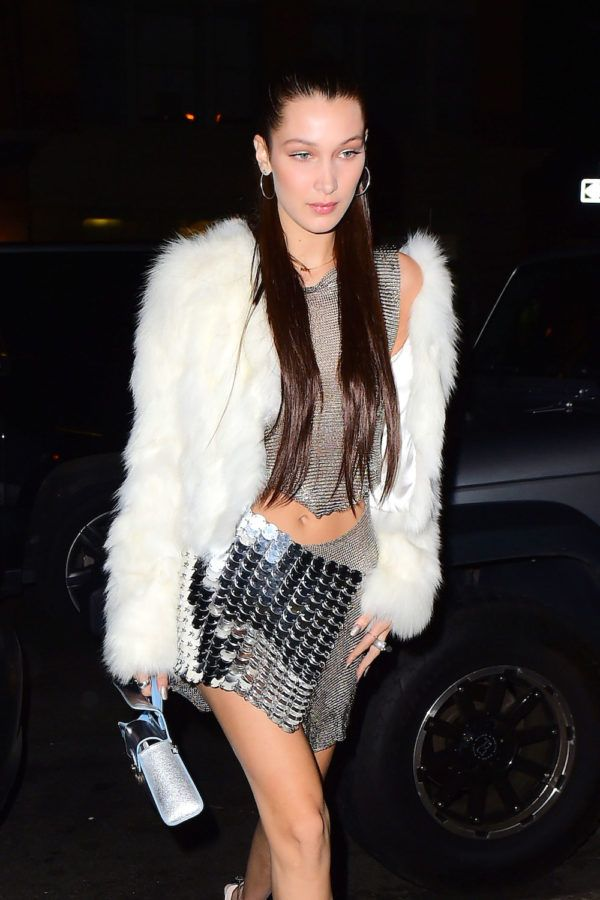 Bella Hadid's birthday outfit took some major fashion risks, but we think it was a fun departure from her normal outfits.