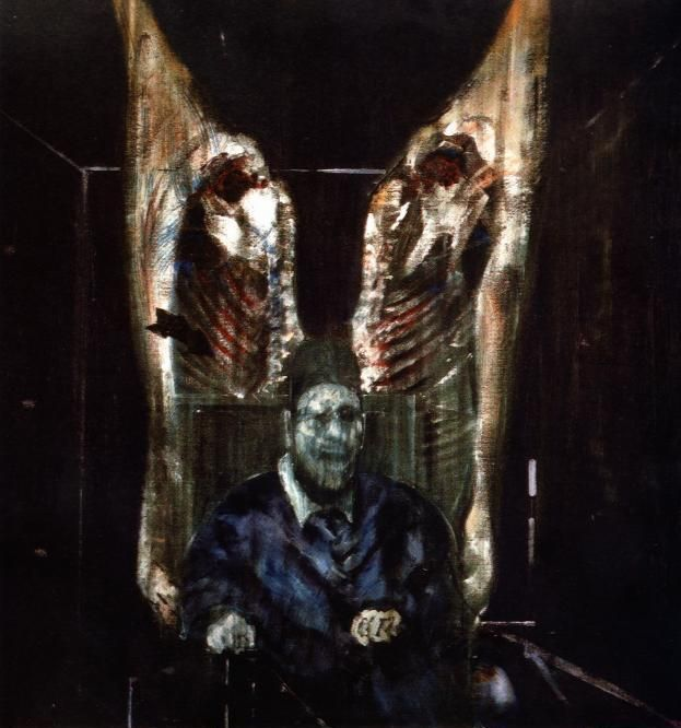 Francis Bacon, first time I layed eyes on his work it almost made me vomit. Later I learned to appreciate and love it.