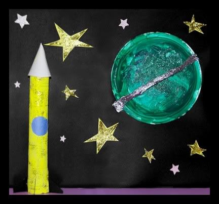 17 best images about outer space crafts on pinterest for Outer space paper