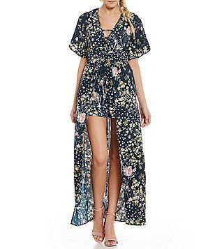 deda5622da4 Offered in the latest styles and materials from casual wide-leg jumpsuits  to printed rompers Dillards has you covered.